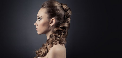 Quick messy braided hairstyles