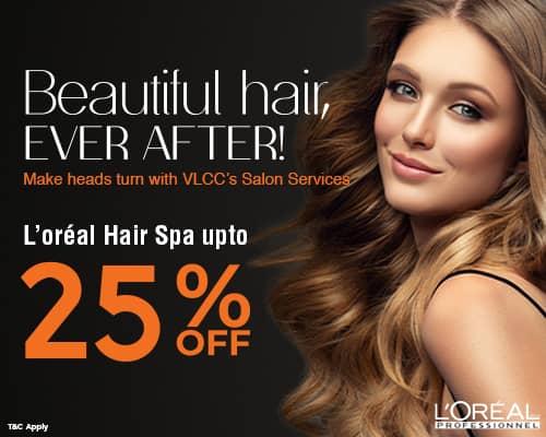 Vlcc LOreal Hair Spa