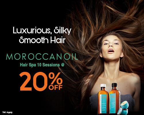 Vlcc MoroccanOil Hair Spa