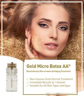 Gold Micro Botox AA